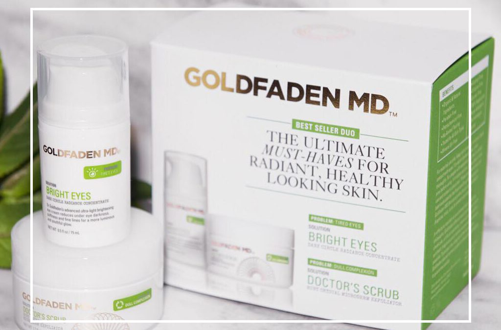 Goldfaden skin care line