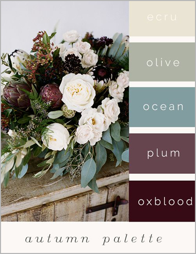 Fall Wedding Colors That Are Trending In 2018 I Do And Company