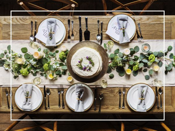 Wedding tablescape trends