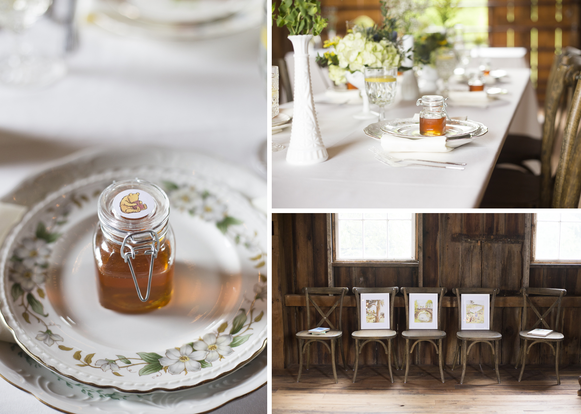 Rustic Winnie the Pooh Baby Shower