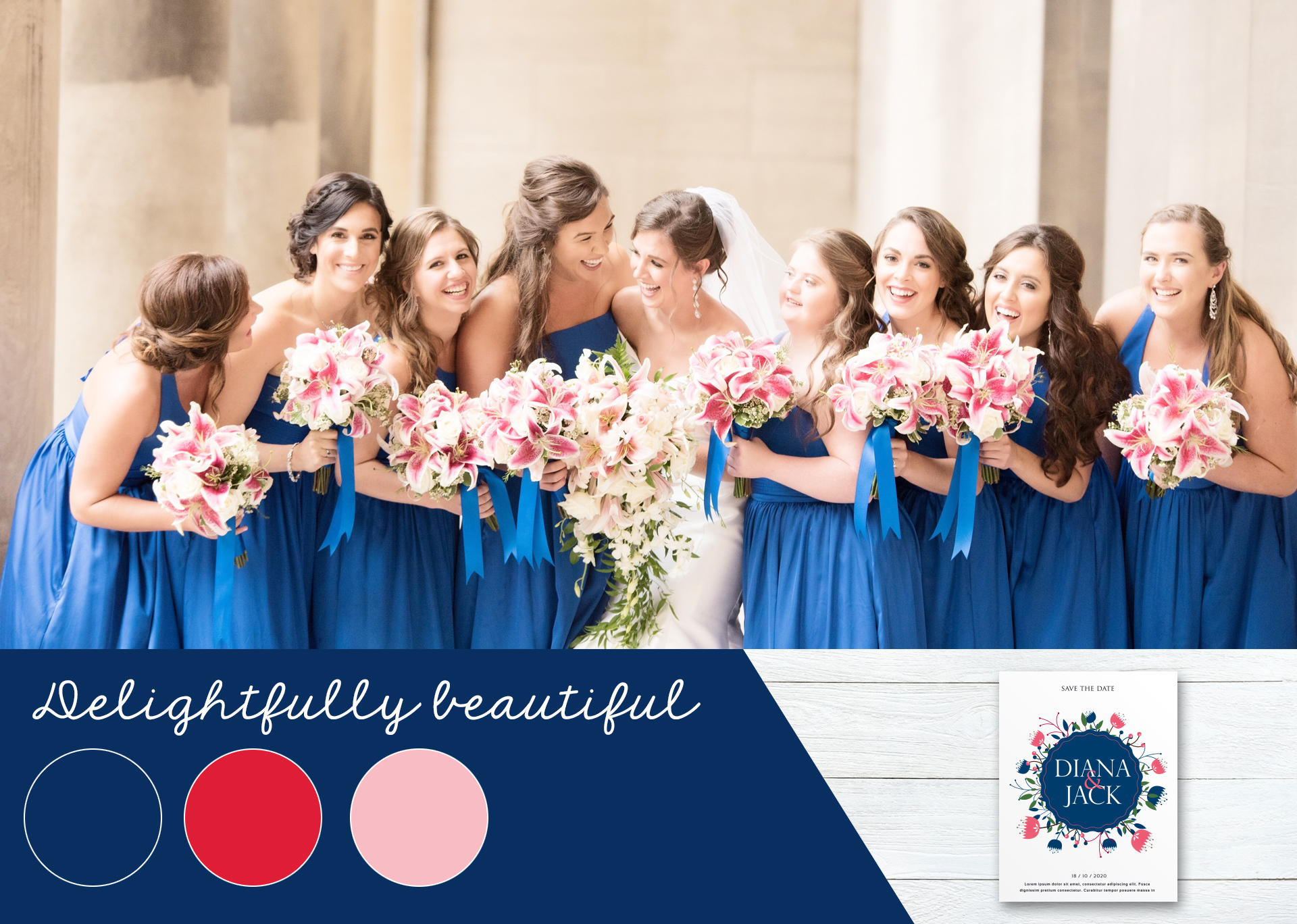 2019 Summer Wedding Color Trends